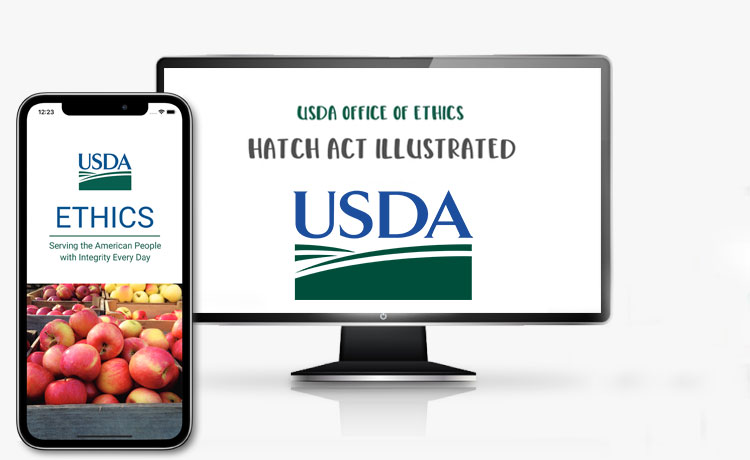 USDA has an Ethics App and Video