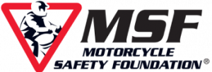 MSF Motorcycle Safety Foundation logo
