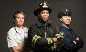 First Responders in a group