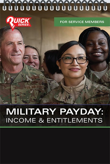Pocket Guide cover - Military Payday: Income and Entitlements