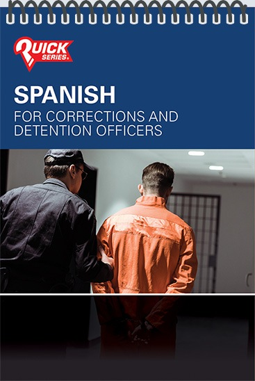 Pocket Guide cover - Spanish for Corrections and Detention Officers
