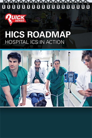 Pocket Guide cover - HICS Roadmap - Hospital ICS in Action