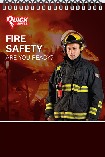 Pocket Guide cover - Fire Safety: Are You Ready?