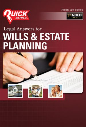 NOLO Legal Answers for Wills & Estate Planning