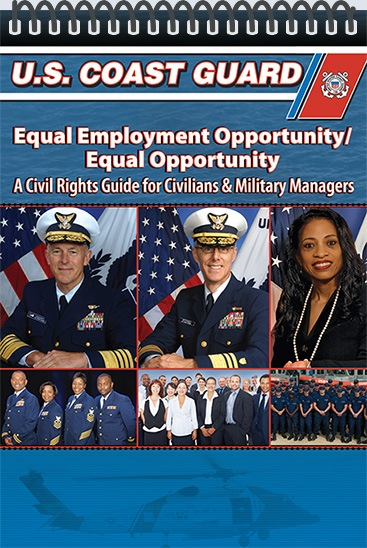Pocket Guide cover - USCG - EEO/EO for Civilians & Military