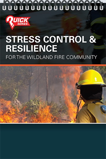 Pocket Guide cover - Stress Control & Resilience - For the Wildland Fire Community